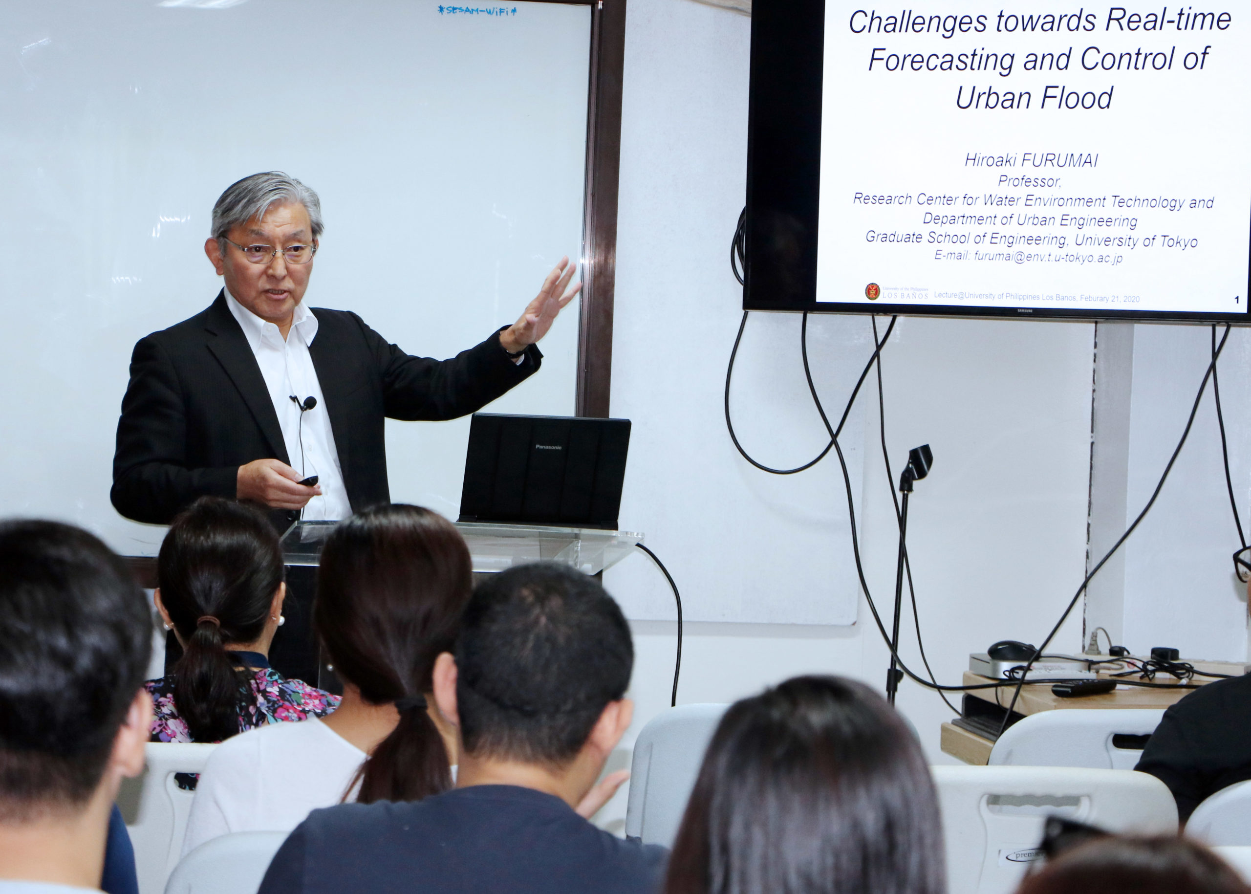 Integrated Counter Measures Key for Flood Control – Japanese Professor