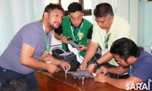 SARAI Conducts a Drone Training for Agricultural Applications in Victoria, Oriental Mindoro