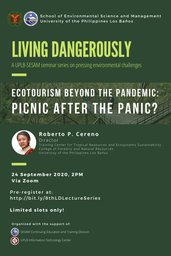 Ecotourism After Covid 19 Next on Living Dangerously Series