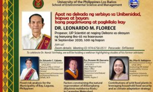 Four Decades of Service: Celebration and Recognition of Dr. Florece's Career