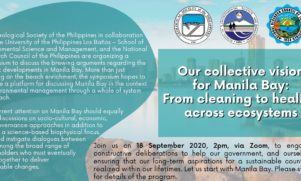 SESAM, GSP and NRCP to Hold Manila Bay White Sand Symposium