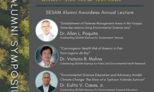 SESAM Alumni Symposium on October 22, 2020