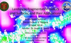 Seminar on Landscape Fragmentation Set on December 10