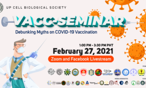Seminar to Debunk Myths on Vaccination Set on February 27