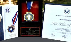 PFPA Awards SESAM Dean the Sinag Medallion