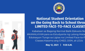 CHED Discuss National Students Orientation