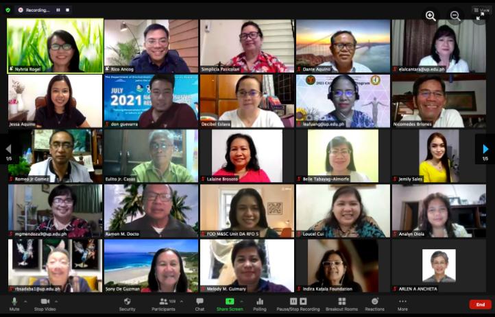 Mini Reunion: SESAM Gathers Alumni for a Virtual Meeting