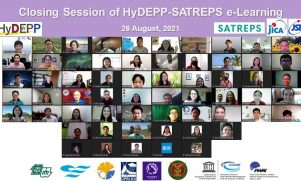 SATREPS HyDEPP concluded its e-Learning Training