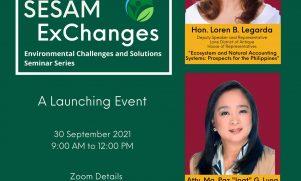 SESAM invites Cong. Legarda, Atty. Luna for the Launching of SESAM ExChanges