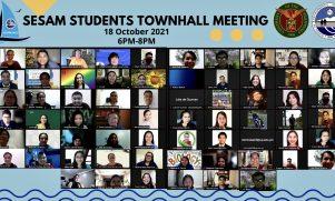 "SESAM kumustahan through ""SESAM Students Townhall Meeting"" held"